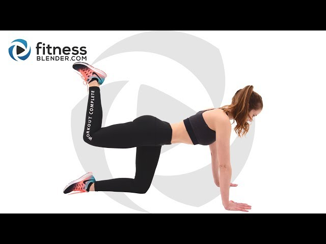 35 Minute Pilates Workout for Butt and Thighs - At Home Pilates Workout
