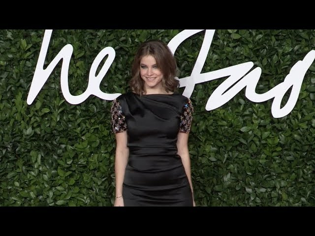 Barbara Palvin at the British Fashion Awards 2019