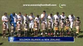 2012 OFC Nations Cup / 3rd Place Play-off / Solomon Islands vs New Zealand Highlights