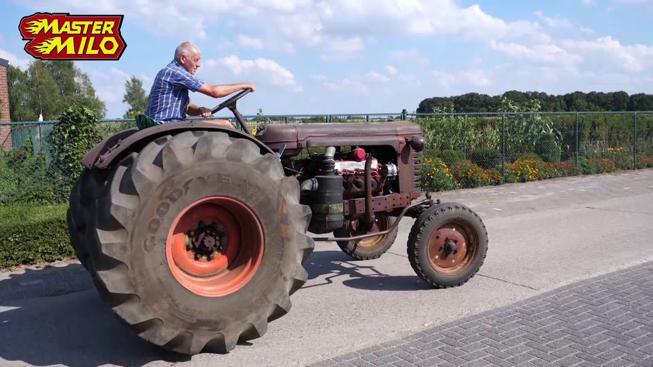 Belarus Tractor With Caterpillar V8
