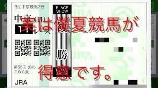 【競馬】第CBC賞・ラジオNIKEEI   第39回 夏競馬は僕の専売特許です。