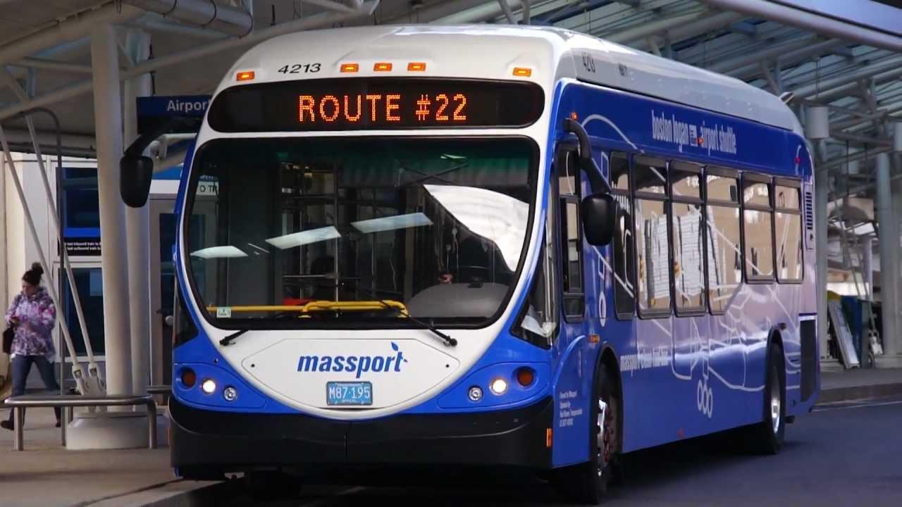 2012 Nabi 42 Brt Cng 4213 On Route 22 Mbta Blue Line