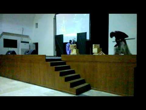 CHOCO DAYS 2015--lunar cosplay perform samurai X great kyoto inferno musical parody(part)