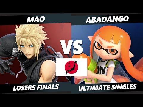 Japan Smash Ultimate Tournament - Mao (Cloud) Vs. SHI | Abadango (Inkling) SSBU Losers Finals thumbnail