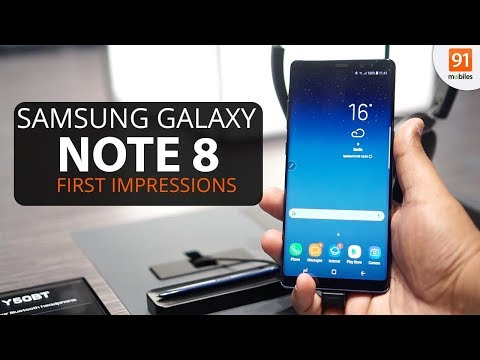 Samsung Galaxy Note 8:  First Look | Hands on | Launch