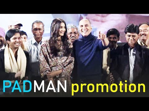 Padman Movie Promotion Full Video HD | Akshay Kumar, Sonam Kapoor | Bollywood Events