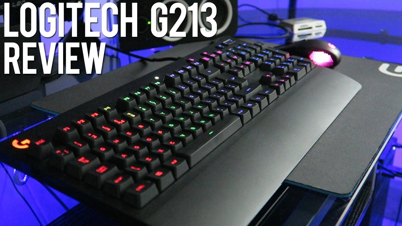 Best Gaming Keyboard Under $100? LOGITECH G213 Prodigy Gaming Keyboard Review!