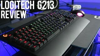 Best Gaming Keyboard Under $100? LOGITECH G213 Prodigy Gaming Keyboard Review!