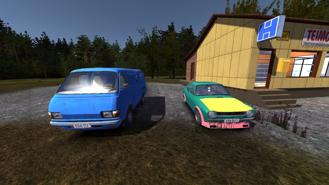My summer car 172 shortcut to store and stealing gas