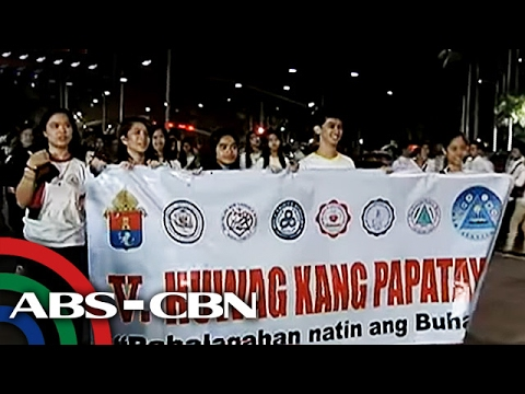 "TV Patrol: Libo-libo, nakiisa sa ""Walk for Life"" ng CBCP"