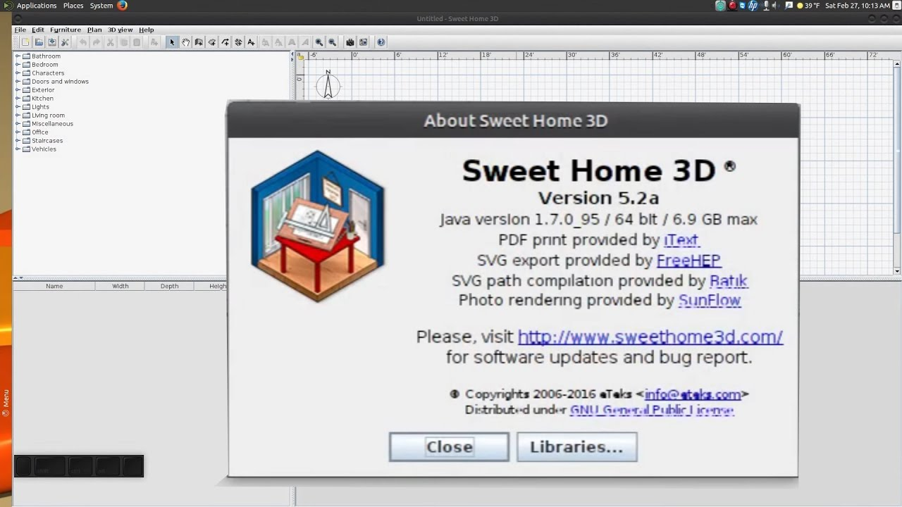 In the next article we are going to take a look at sweet home 3d 6.5.2. Upgrade To Sweet Home 3d 5 2 In Ubuntu Youtube