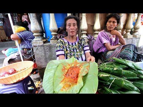Guatemalan STREET FOOD from the GODS in Lake Atitlan | Santiago Atitlan, Guatemala