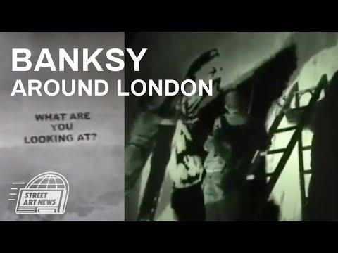 Banksy around London