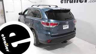 Thule XG12 Pro Snow Tire Chains Review - 2015 Toyota Highlander - etra