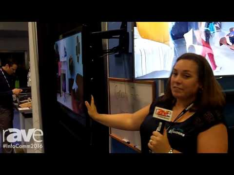 InfoComm 2016: Dynamic Mounting Shows Down And Out Swivel Mount