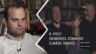 INTERVIJA TUMSĀ / 8. EPIZODE / PAVĀRI RAIMONDS ZOMMERS UN ELMĀRS TANNIS