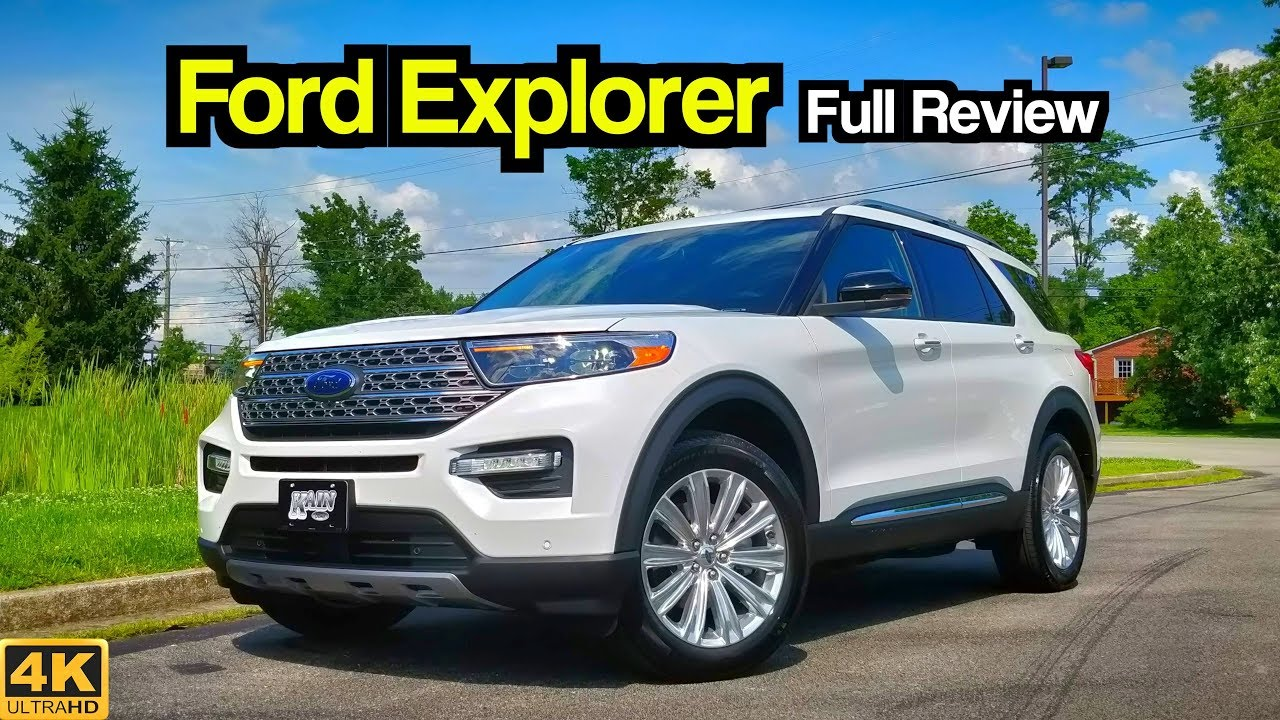 2020 Ford Explorer Full Review Drive Should Highlander Be Worried