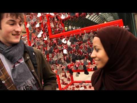 British Heart Foundation - Love installation in Covent Garden 2013