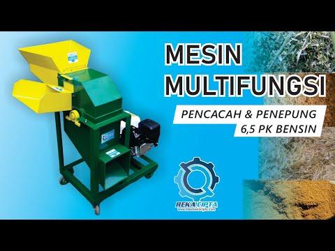 Mesin cacah multifungsi / pencacah rumput / penepung ( UPDATE )
