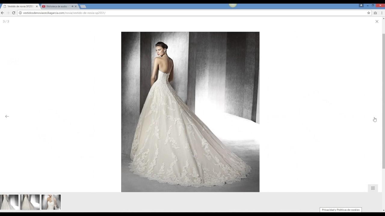 71022c13c Diseño de página web Jaén. Web para tienda de vestidos de novia ...