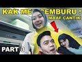 Download Mp3 Gombalin PRAMUGARI kereta di depan KAK MEMEY dia CEMBURU !! PART3