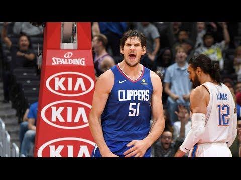 NBA Oklahoma City Thunder vs Los Angeles Clippers   Oct 19,  2018