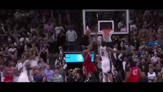 Kawhi Leonard BLOCK OF THE YEAR!