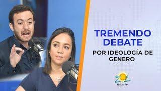 Tremenda discusión entre Escritor Agustín Laje y Faride Raful sobre tema ideología de genero parte 1