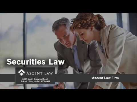 What Is Securities Law And What Does A Securities Lawyer Do?