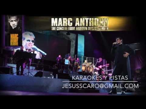 Karaoke marc anthony dimelo i need to know live youtube - Marc anthony madison square garden ...