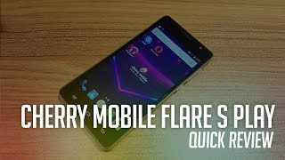 Cherry Mobile Flare S Play Unboxing and Quick Review