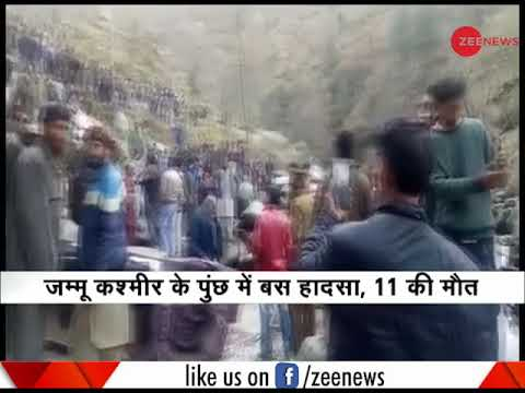 J&K: 11 dead in bus accident in Poonch sector