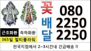 근조꽃 24시전국080-225O-225O 강동경희대학교…