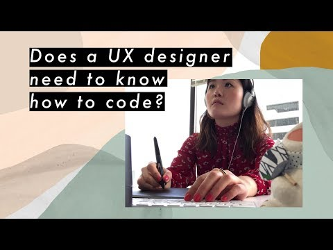 Does a UX designer need to know how to code?