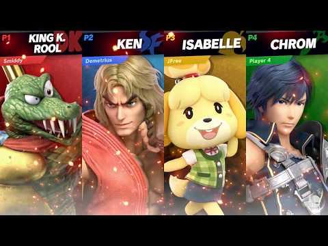King K. Rool/Ken/Isabelle/Chrom