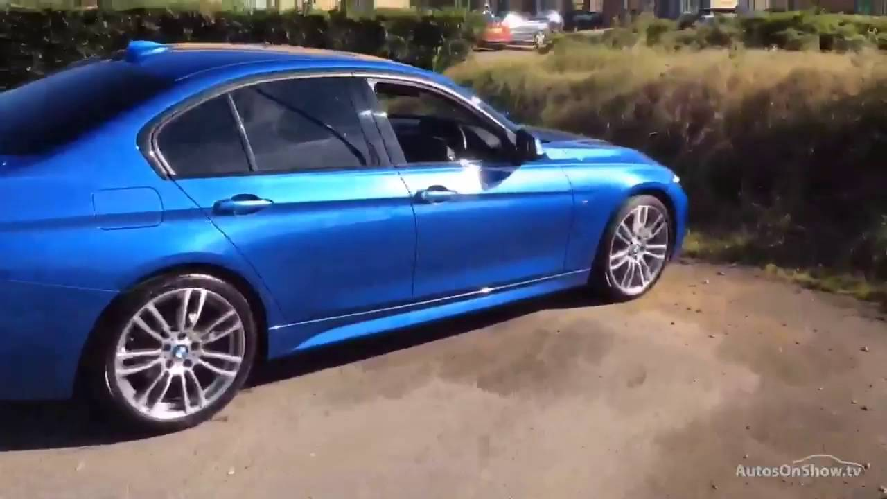 BMW SERIES D M SPORT BLUE YouTube - Blue bmw 3 series