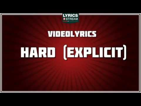 Hard - Rihanna tribute - Lyrics