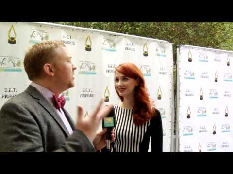 Laura Spencer from the 2014 SET Awards with Good Nerd Bad Nerd