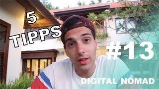 Meine 5 Tipps für Digital Nomads! Vlog#13