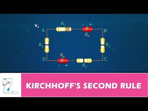 KIRCHHOFF'S SECOND RULE