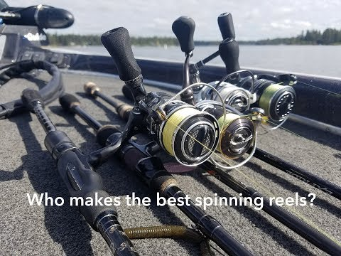 Who Makes The Best Spinning Reels? Daiwa, Shimano, Pflueger Or Abu Garcia