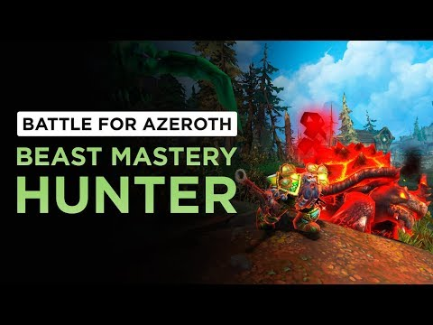 More than THREE Buttons!? Beast Mastery Hunter | WoW: Battle for Azeroth - Beta [2nd Pass]
