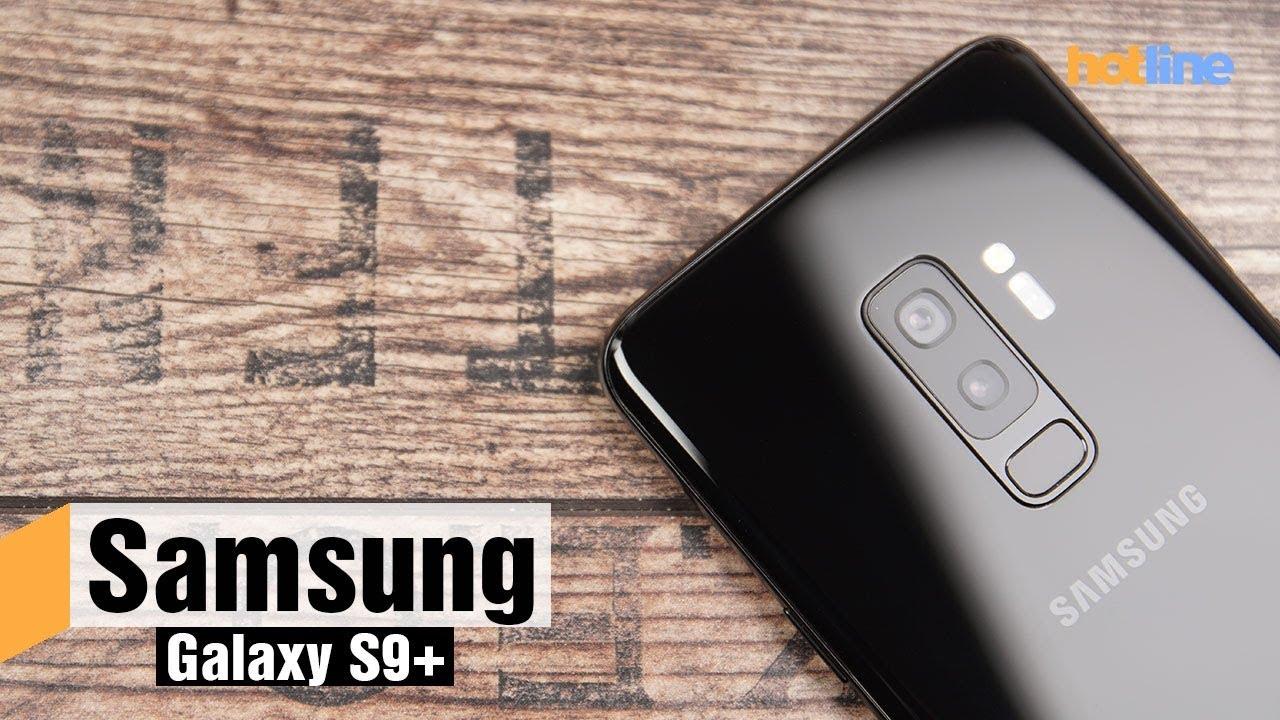 Первый взгляд на Samsung Galaxy S9+
