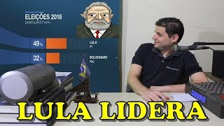 Lula lidera tudo no Datafolha. É Lula 2018!