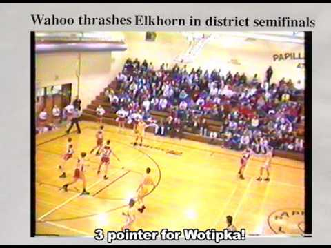 Wahoo High School 1994 Highlights -- District Tournament