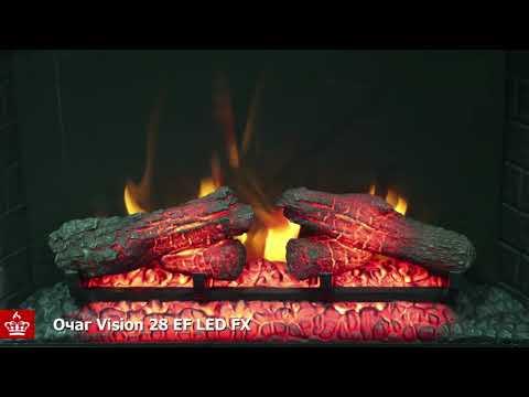 Электрический Очаг Royal Flame Vision 28 EF LED FX. Видео 1