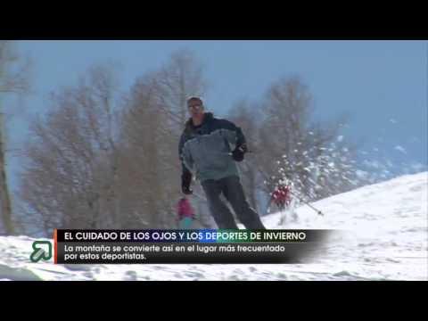 El cuidado de los ojos y los deportes de invierno