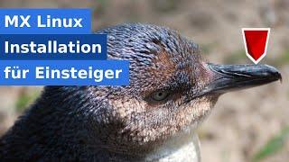 Linux Installation für Einsteiger mit MX Linux