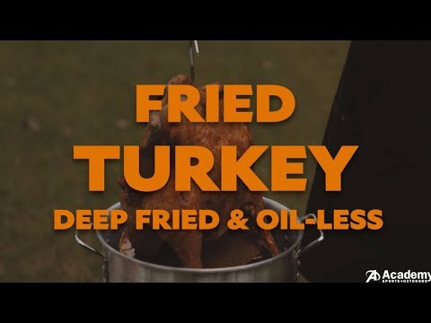 How to Fry a Turkey: Deep Fried vs. Oil-Less