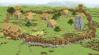 Как защитить деревню в майнкрафте